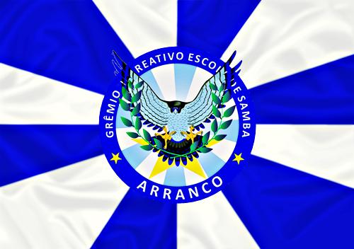 Bandeira_do_GRES_Arranco
