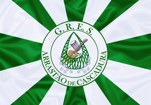 Bandeira_do_GRES_Arrastão_de_Cascadura
