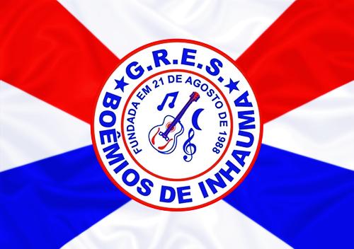 Bandeira_do_GRES_Boêmios_de_Inhaúma