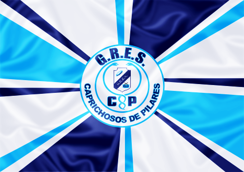 Bandeira_do_GRES_Caprichosos_de_Pilares