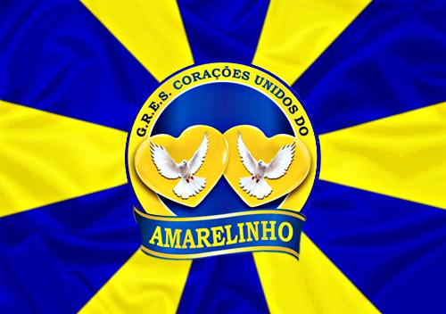 Bandeira_do_GRES_Corações_Unidos_do_Amarelinho
