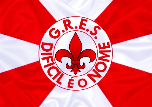 Bandeira_do_GRES_Difícil_é_o_Nome