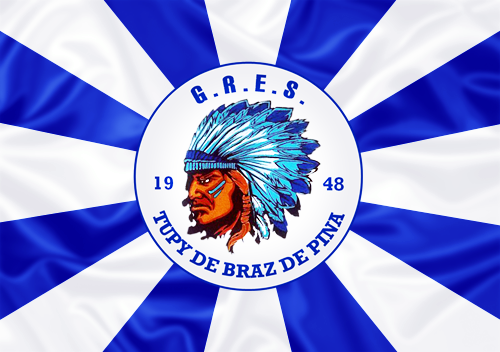 Bandeira_do_GRES_Tupy_de_Brás_de_Pina
