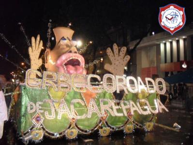 Carnaval 2011: Cinco Sentidos, Cinco Caminhos... Do Mundo ao Coração - 4º lugar do Grupo 1 da FBCERJ