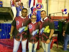 Os Carnavalescos: Marcus Vinicius, Lino e Alexandre
