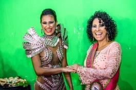 Rainha e ex madrinha Cristina Fernandes