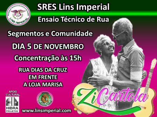 Convite - Ensaio de Rua