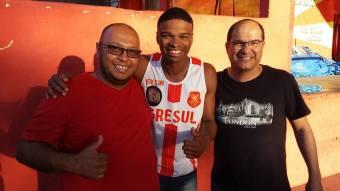 Dias, Celsinho e Walter