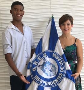 João Vitor e Carolina Accioli