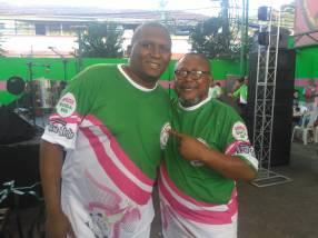 Presidente Flavio Mello e vice-presidente Jorge Torresmo