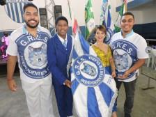 1º Casal de mestre sala e porta bandeira da Independentes e carnavalescos