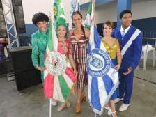 1º Casal de mestre sala e porta bandeira da Independentes e o casal da Manguinhos (1)
