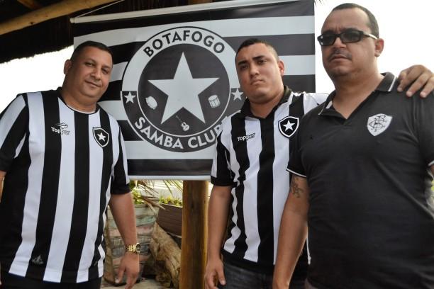 Sandro, Edson e Alex