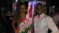 1º Casal: Mauro Lima e Caroline Santos