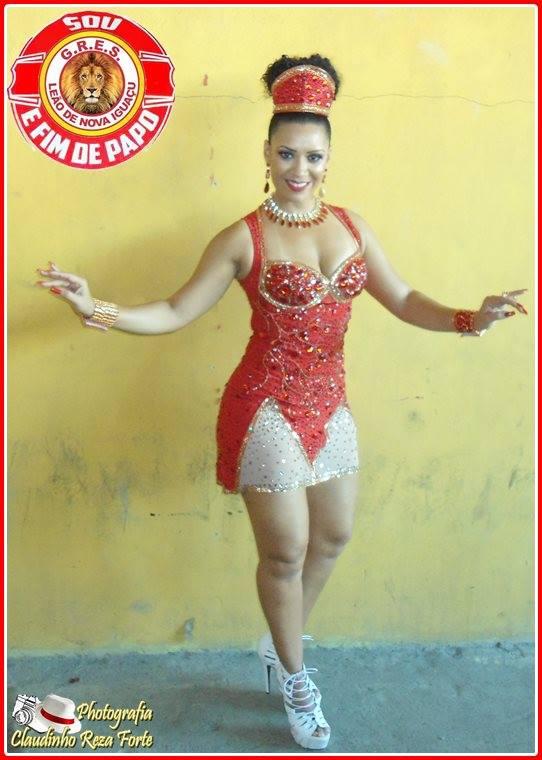 Luciane Soares - Rainha de Bateria Foto: Claudinho Reza Forte