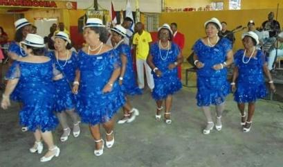 Departamento feminino da Portela, show de alegria e samba no pé