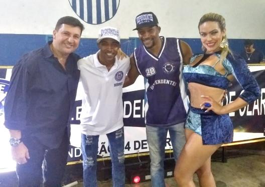 Arthur Franco, Clebinho Show, Mestre Marquinhos Swing e rainha Ignez Perla