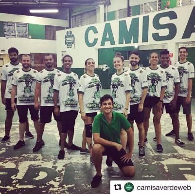 Camisa Verde e Branco 2019