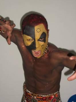 Como bailarino da CF do Gres Unidos de Vila Isabel 2012