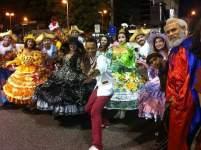 Como coreógrafo da Comissão de Frente do Gres Leão de Nova Iguaçu em 2016
