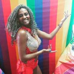 """Princesa da Escola: Márcia Cristine """"Furacão"""""""