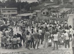 Comemoração do Bloco Arranco em 21 de fevereiro de 1972