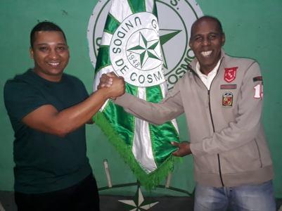 Mestre Léo e o Presidente Rafael Júnior