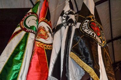 Guerreiros Tricolores, Imperadores Rubro-Negros, Botafogo Samba Clube e União Cruzmaltina