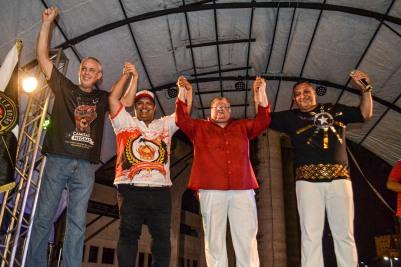 Presidentes da União Cruzmaltina, Imperadores Rubro-Negros, Guerreiros Tricolores e Botafogo Samba Clube